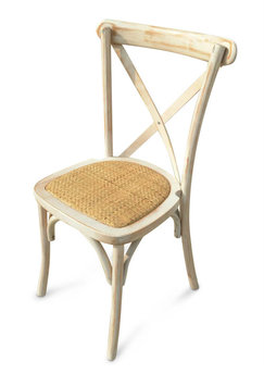 Aldby Limewash Cross Back Chair
